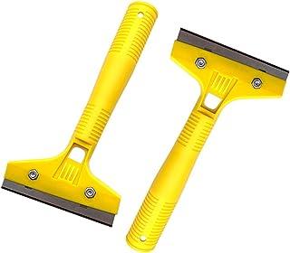 DOITOOL 30 peças raspador de navalha de cabo longo, ferramenta de raspagem de plástico, removedor de raspador, ferramenta ...