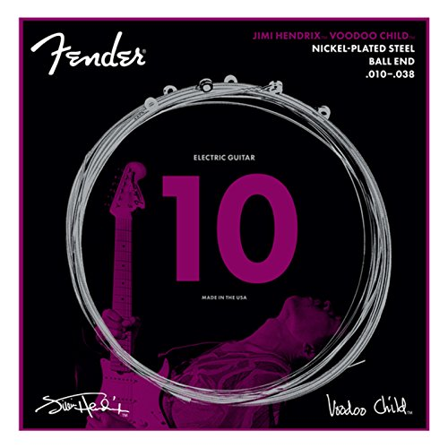 Fender 730250609 Jimi Hendrix Voodoo Child NPS Kugelsaiten 010-038