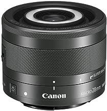 Canon EF-M 28mm f/3.5 Macro is STM Lens (International Model-No Warranty)