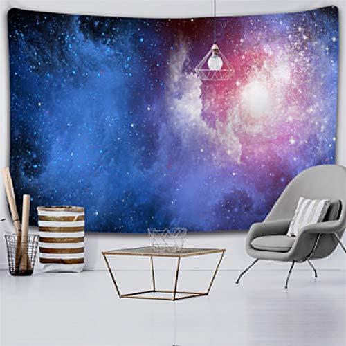 xinmeng Universum Space Nebel Große Kunst-Tapisserie Gedruckt Wandabdeckung Psychedelische Wandbehang (Color : 2020 1132, Size : 200x150cm)