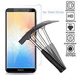 EJBOTH [2 Stück] Huawei Mate 10 Lite Panzerglas, Premium Gehärtetem Glas Handy Bildschirmschutzfolie Schutzfolie Panzerfolie Transparent - High Definition 9H