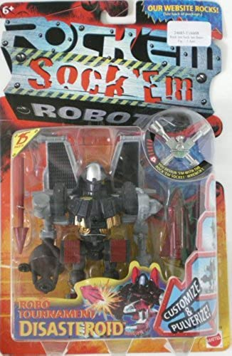 hasta un 65% de descuento Rock Em Sock Sock Sock Em Robots Robo-Tournament Disaateroid Action Figure by Rock'em Sock'em Robots  bajo precio
