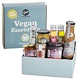 Gepp's Feinkost Vegan Essentials I Geschenkbox gefüllt mit veganen Köstlichkeiten, hergestellt nach eigener Rezeptur I Tolles Geschenk für alle Freunde der Veganen Küche