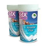 Certikin Ctx-37 Xtreme Antialgas/floculante 5 Pastillas En Cada Bote. Pack De 2.