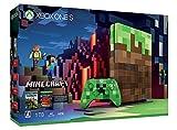 草ブロックをイメージした特別デザインの Xbox One S 本体とクリーパーをイメージしたデザインのコントローラー 『Xbox One 縦置きスタンド』と『Minecraft』と数々のダウンロードと数々のダウンロード コンテンツを収録した『レッドストーン パック』を同梱 本商品は数量限定商品です。
