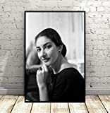 DAQIANSHIJIE Wandkunst Bildsängerin Maria Callas