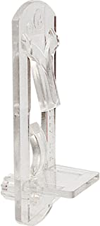 Best Prime-Line R 7316 Locking Shelf Pegs, 1/4 in. Peg x 1/2 in. Shelf, Plastic, Clear (Pack of 6) Review