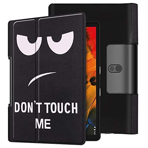 KM-WEN - Funda para tablet Lenovo Yoga Smart Tab YT-X705 (10,1 pulgadas), diseño de galaxia Color-3 Lenovo Yoga Smart Tab YT-X705
