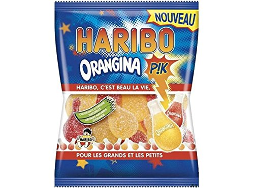 Haribo Orangina PIK, in 3 Farben, 1 x 250 g Beutel