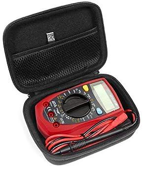 CaseSack Case for Digital Multimeter Like Etekcity MSR-R500 AstrolAI Craftsman Multimeter 34-82141 Crenova MS8233D Cell Sensor EMF Detection Meter The Ghost Meter EMF Sensor