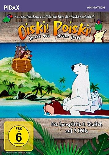Oiski! Poiski! - Neues von Noahs Insel, Staffel 1 / Die komplette 1. Staffel der Kultserie von dem Machern von ALS DIE TIERE DEN WALD VERLIESSEN (Pidax Animation) [2 DVDs]