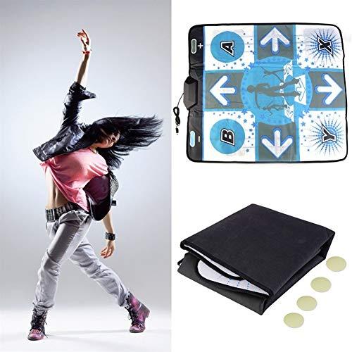 Gu3Je Antideslizante Anti Slip Dance Revolution Estera del cojín de la Danza del Paso for Nintendo Wii for PC TV del Partido Accesorios de Juego ( Size : 92x79cm )