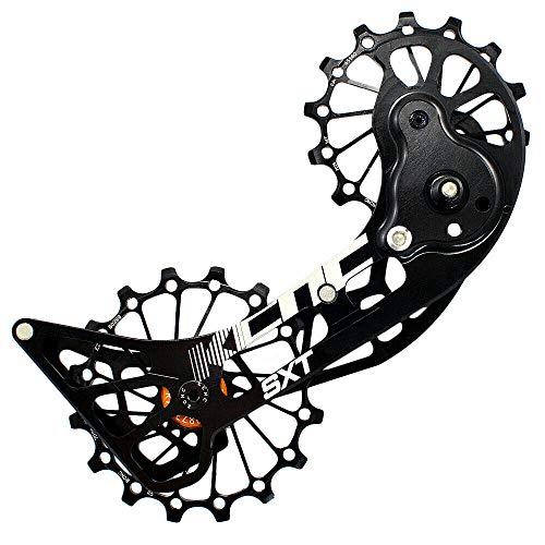 KCNC SXT Cage de vélo pour vélo de vélo surdimensionnée pour Shimano M9000 et M8000, noir, KOT39-004, SK1959
