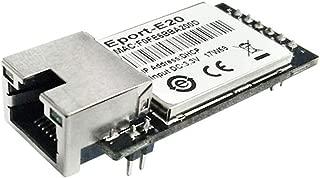 5pcs/Pack Eport-E20 FreeRTOS Network Server Port TTL Serial to Ethernet Embedded Module DHCP 3.3V TCP IP Telnet