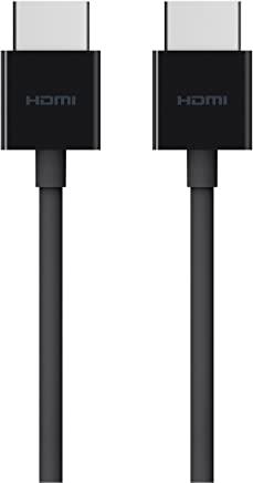 Belkin E9M024b08 HDMI to HDMI Cable for Fire TV and HDMI-Enabled Devices, HDMI 2.0/4k Compatible (8')