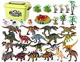 Dfghbn Dinosaurio Mundial Figura 34 Pieza Mini Dinosaurio Juego...