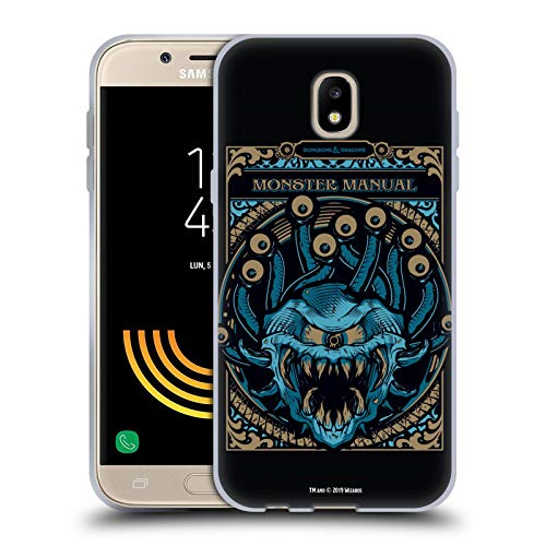 Head Case Designs Offizielle Dungeons & Dragons Monster Handbuch Hydro74 Kunstwerk Soft Gel Huelle kompatibel mit Samsung Galaxy J5 (2017)