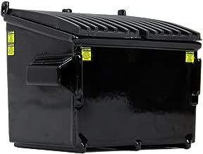 First Gear 1/34 Scale Diecast Collectible Black Trash Bin (90-0533)