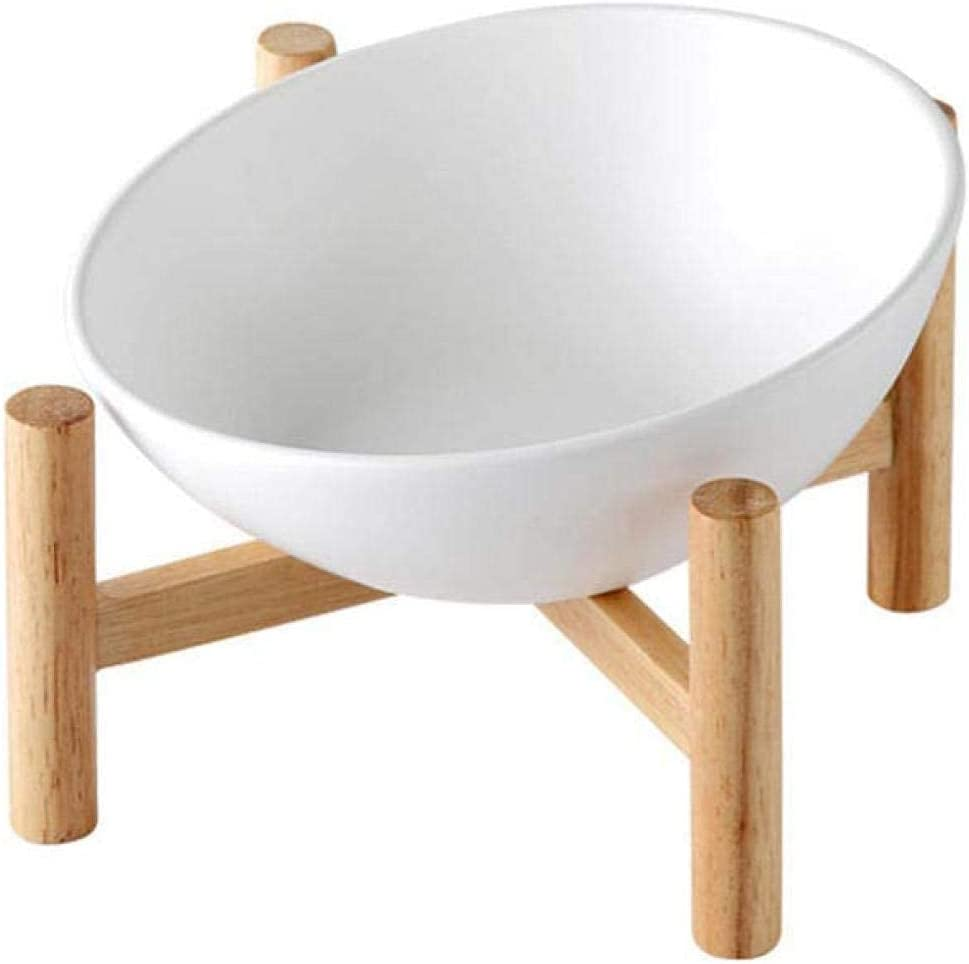 Fresno Mall XHJTD Elevated Max 61% OFF Dog Bowls Tilted Pet Raised with W Bowl