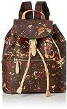 piero guidi Back Pack, Zaino Donna, Marrone (T.Moro), 26x30.5x14.5 cm (W x H x L)