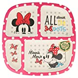 PLATO BAMBU DIVIDIDO MINNIE MOUSE - DISNEY - GLAM DOTS