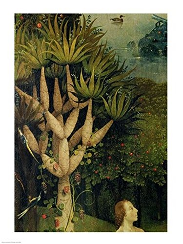 Hieronymus Bosch – The Tree of The Knowledge of Good and Evil Detail from The Right Panel of The Garden of Earthly Delights c.1500 Kunstdruck (60,96 x 91,44 cm)