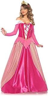 New Halloween Dress Uniforms Pink Princess Playing Sleeping Beauty Princess Aurora (Color : Pink, Size : L)