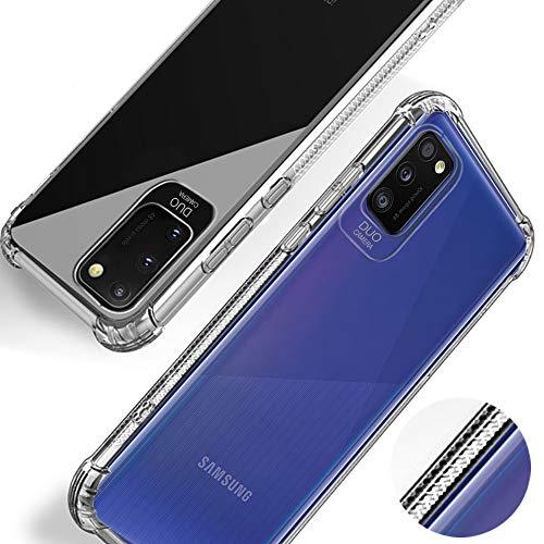Beetop Kompatibel Mit Samsung Galaxy A41 Hülle Schutzhülle [Für Handyspiel] [Lautsprecher Nicht blockiert ] Handyhülle Transparent Weiche Silikon TPU Für Samsung Galaxy A41 - Durchsichtig(WSJ)