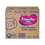 MamyPoko Pants Extra Absorb Baby Diaper Box, Medium (7 - 12 kg), 152 Count