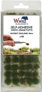 War World Scenics 10mm Self-Adhesive Static Grass Tufts x 100 – Ancient Oakland