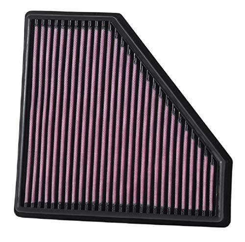 K&N Engine Air Filter: High Performance, Premium, Washable, Replacement Filter: 2016-2019 CADILLAC (CTS-V), 33-5059