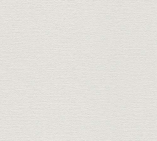 awallo überstreichbare Vliestapete mit feiner Struktur Tapete 10,05 m x 0,53 m überstreichbar Made in Germany 352415 3524-15