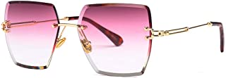 Square Gradient Color Sunglasses Frame HD Lens 100% UV Protection,C1
