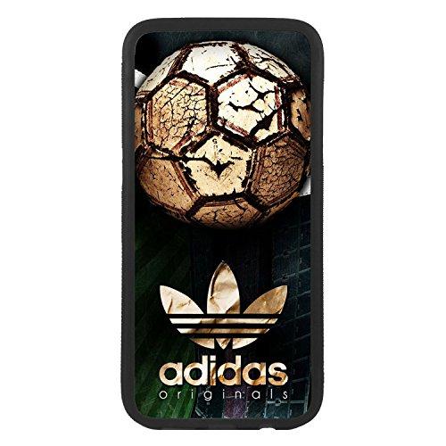 Custodia cover per Samsung Galaxy S6 Logo Adidas Logo Pallone da calcio TPU Bordo Nero