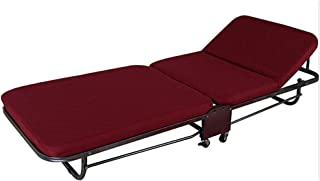 Lit Pliant Loisirs Lit Pliant Bureau Unique Pause-déjeuner Chaise Faire la Sieste Plage Adulte Simple Lits de Camp Chaises...