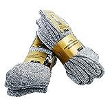 Pagel Strumpfimporte 6 Paar Herren Norweger Socken 30prozent Wolle ohne Gummidruck (39-42)