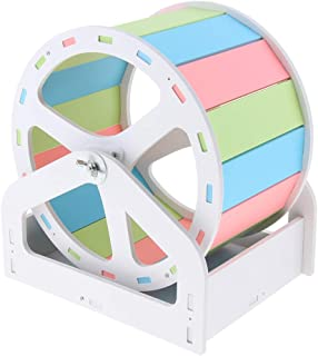 Homyl Exercise Wheel - For Rats, Hamsters, Mice, Gerbils Other Small Animals - Colorful