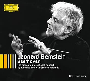 Beethoven: The Amnesty International Concert; Symphonies Nos.7 & 9; Overtures; String Quartet Arr.; Missa solemnis