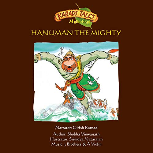 Hanuman the Mighty cover art