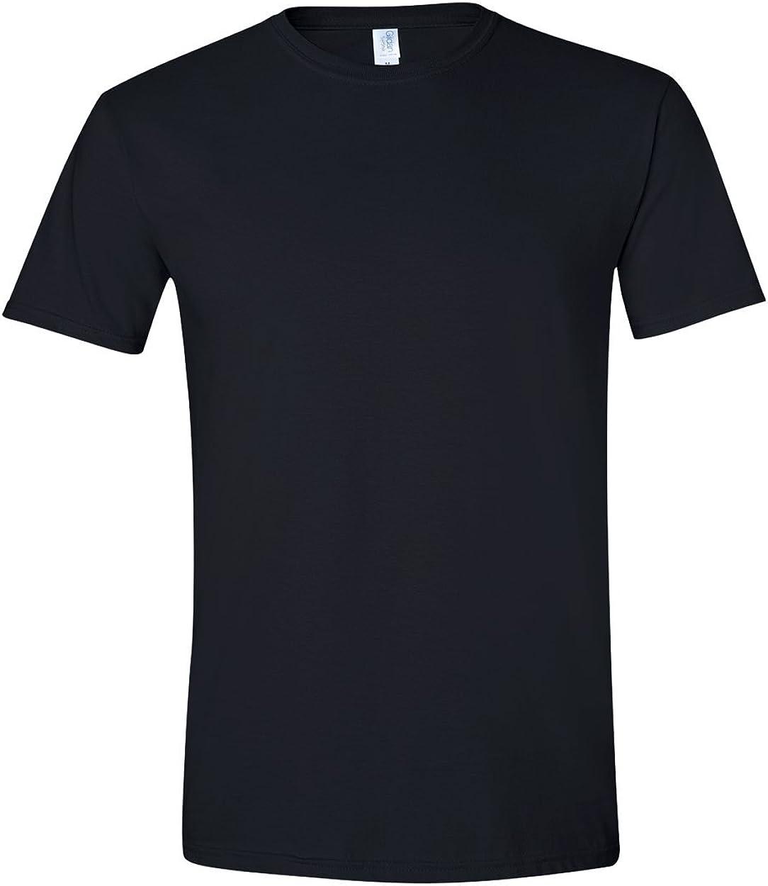 4.5 oz. T-Shirt (G640) Black, 3XL (Pack of 6)