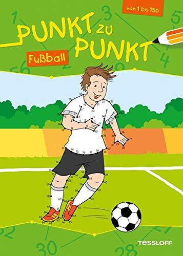 Punkt zu Punkt 1 bis 150. Fußball: Malen nach Zahlen von 1 bis 150 (Von Punkt zu Punkt)