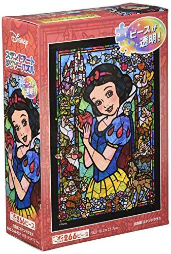 266ピース ジグソーパズル 白雪姫 ステンドグラス ぎゅっとシリーズ 【ステンドアート】(18.2x25.7cm)