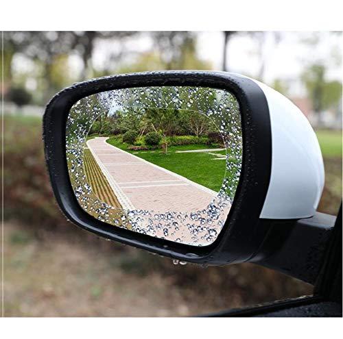 GangKun achteruitkijkspiegel voor auto, regenbescherming, ramen, waterafstotend, Nano, anti-condens, HD-folie, Singolo tondo 95 * 95