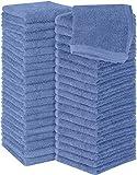 Utopia Towels - 60 Toallas para la Cara de algodón, Paños de algodón (30 x 30 cm) (Azul eléctrico)