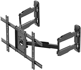 Monoprice Cornerstone Series Full-Motion Articulating TV Wall Mount Bracket - for TVs 37in to 70in Max Weight 99lbs VESA P...