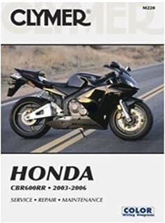 Clymer Manual de reparo para Honda CBR600RR CBR-600RR 03-06