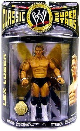 WWE - 2007 - Classic Super Stars - Series 15 - Lex Luger Action Figure - w  Championship Belt - Limited Edition - Mint - Collectible by Jakks