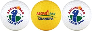 Above Par Grandpa Variety Golf Ball Gift Set