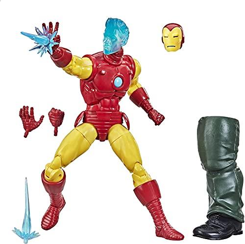 Boneco Marvel Legends Series Homem de Ferro, Figura de 15 cm - Tony Stark (A.I.) - F0252 - Hasbro