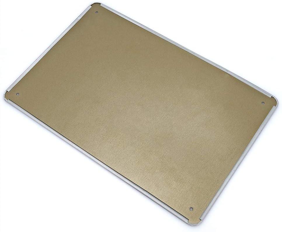 20,8 cm x 12 pulgadas para interiores o exteriores Placa de metal vintage de Lplpol Badass para conductor de cami/ón pesado de aluminio